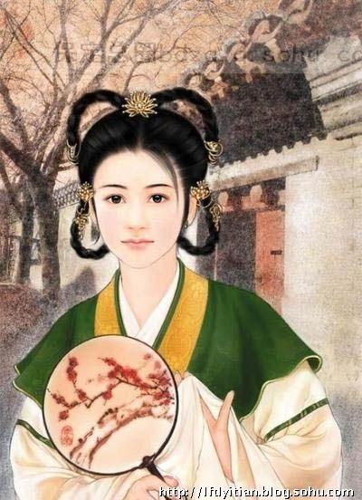 中国古代历史上最美的15个女人