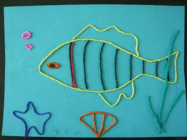 纸条编织小动物图解