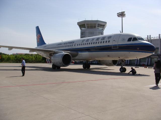 长治机场的另一架飞机!