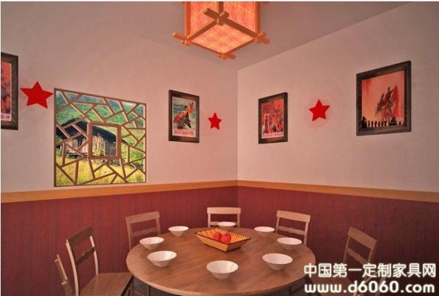 农家乐餐厅装修设计效果图 高清图片