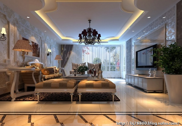 【房屋地址】:北京海淀 【工程面积】:200平 【房屋户型】:5室2厅5卫 【装修风格】:现代欧式 【业主职业】:商人 【居住人口】:三口之家 【工程总造价】:23890元 【设计亮点】: 现代欧式的居室有的不只是豪华大气,更多的是惬意和浪漫。通过完美的曲线,精益求精的细节处理,带给家人不尽的舒服触感,实际上和谐是欧式风格的最高境界。