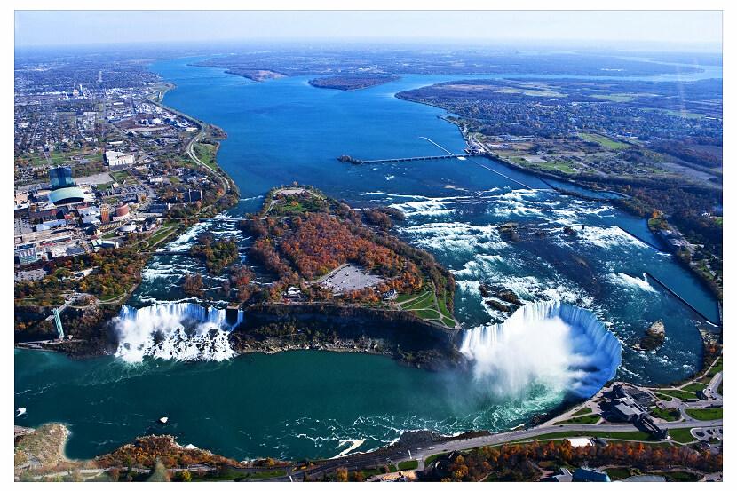 加拿大与美国交界处_航拍壮美尼亚加拉大瀑布-张缚龙的博客-搜狐博客