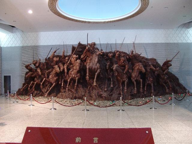 内蒙古民族解放纪念馆展陈设计一瞥