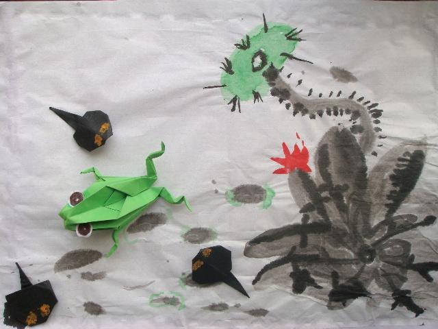 手工制作蝌蚪头饰