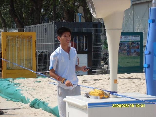现场感受沙滩排球的魅力