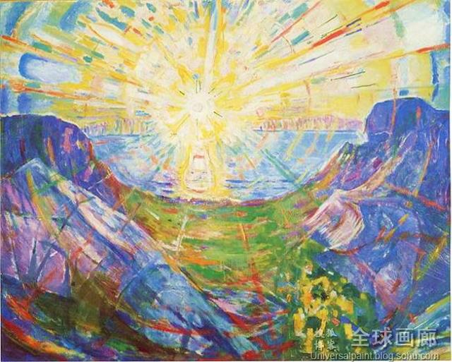 掩饰的爱_表现主义绘画先驱-挪威画家爱德华·蒙克(Edvard Munch 1863-1944)(四 ...