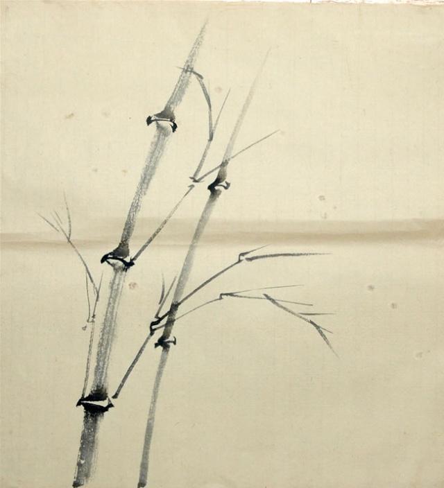 儿童国画竹子步骤
