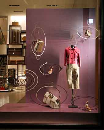 服装店橱窗背景_女装店橱窗背景图