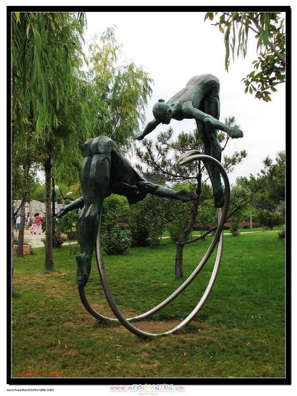 体育运动雕塑-zhenqi-搜狐