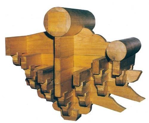 此结构方式,由立柱,横梁