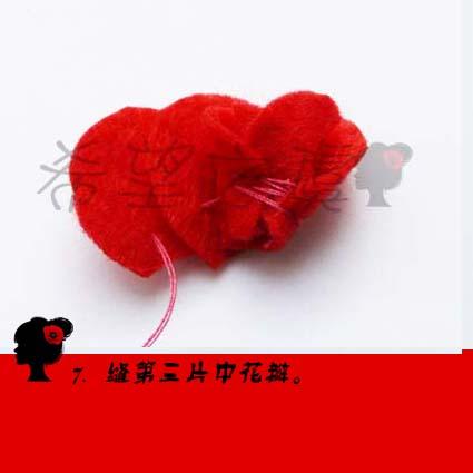 不织布玫瑰花教程-虞美人-搜狐博客