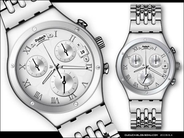 [ps实物绘画]手表