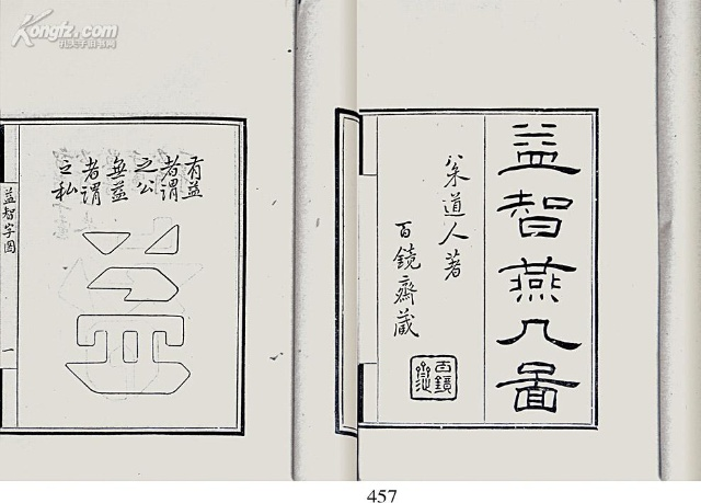 书页式手抄报边框