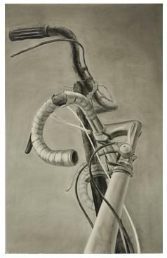 自行车的结构图素描