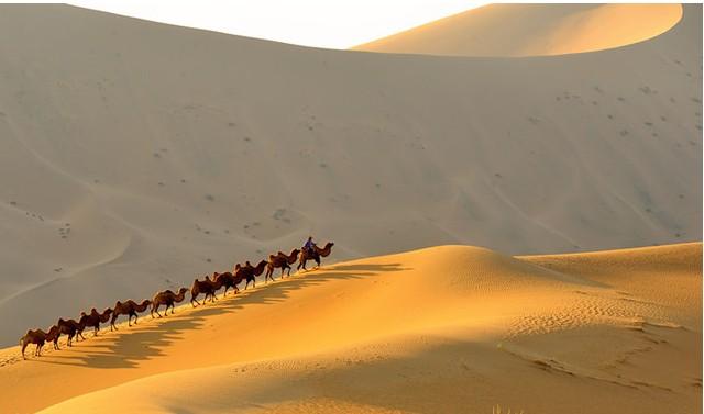 危乎高哉的阿拉善沙漠金字塔