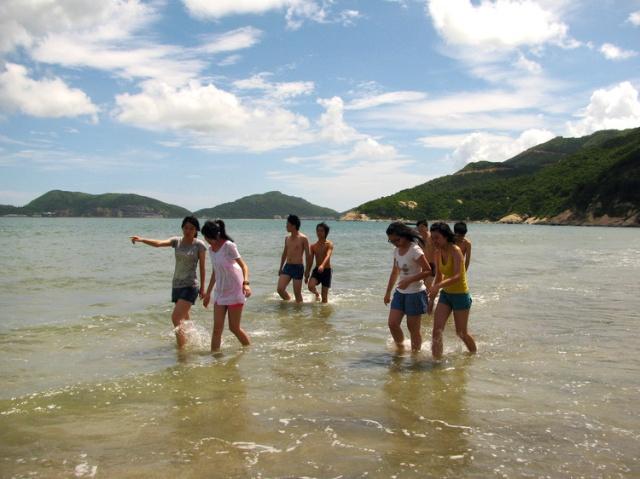 江门台山下川岛海岛