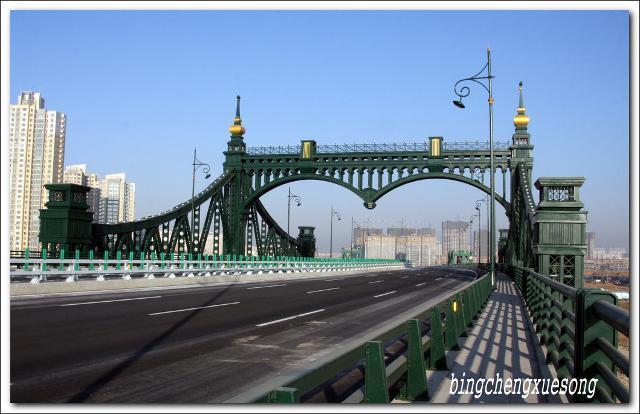 欧式桥路灯