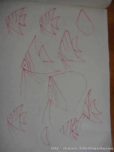 简单裙子画画图案