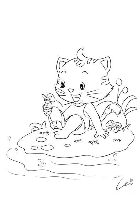 蕾儿的小创作练习稿——20组小动物-蕾儿童画-我的搜狐
