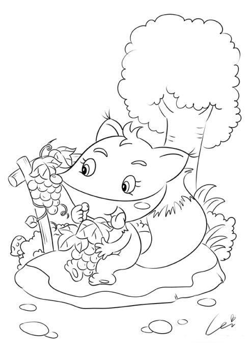 小动物-蕾儿童画-我的