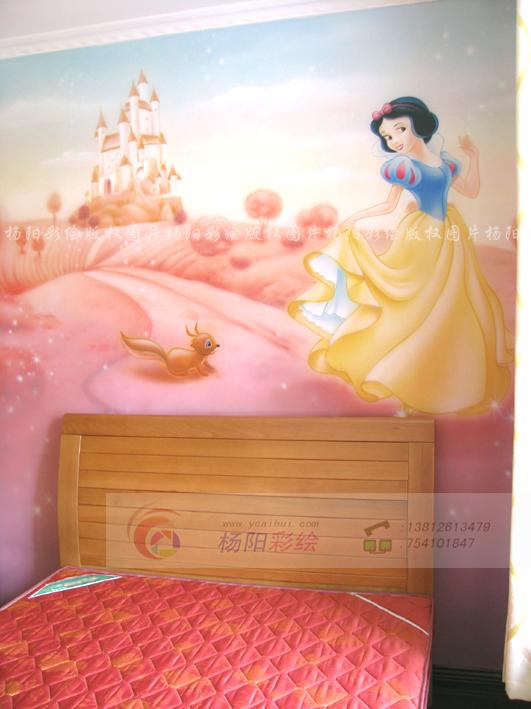 南京墙绘壁画-公主房手绘墙-苏州手绘墙-我的搜狐