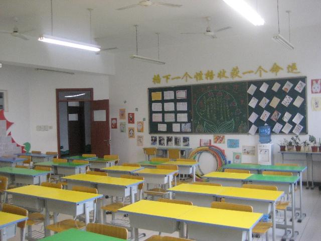 自制教室墙壁设计图