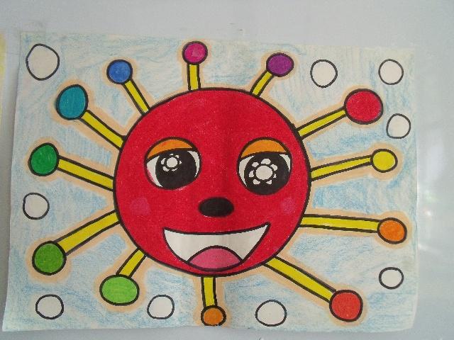 幼儿园   中班美术兴趣班幼儿作品   美术兴趣班学生习作选
