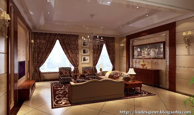 彰显富贵奢华的400-刘丹的设计师家园:ld的设计建筑设计中级答辩题库图片