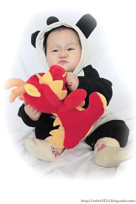 宝贝9个半月-----小熊猫-梦幻池塘-搜狐博客