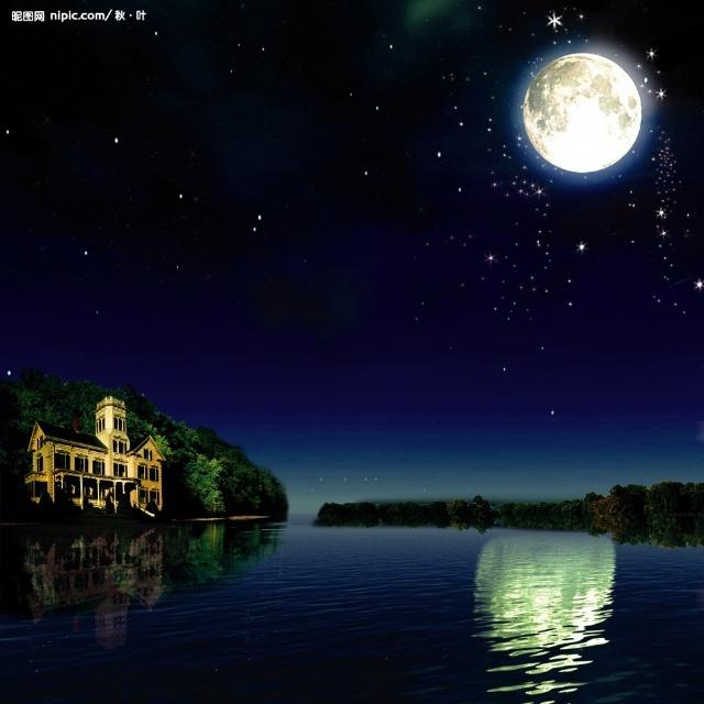 弯弯月亮河