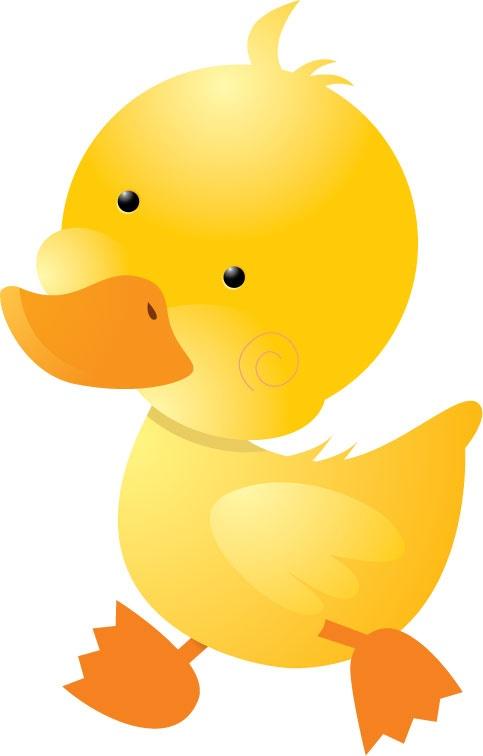 可爱小鸭简笔画步骤